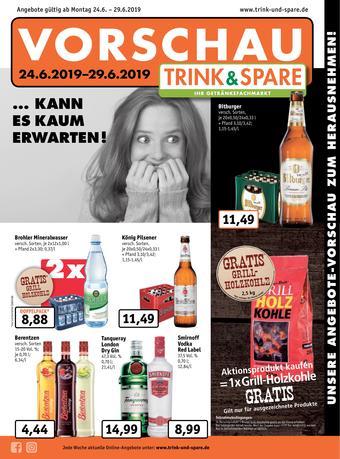 Trink und Spare Prospekt (bis einschl. 29-06)