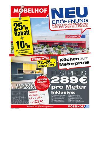 Möbelhof Prospekt (bis einschl. 03-09)