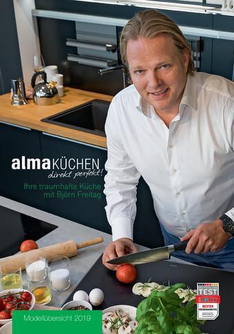 alma Küchen Prospekt (bis einschl. 31-12)