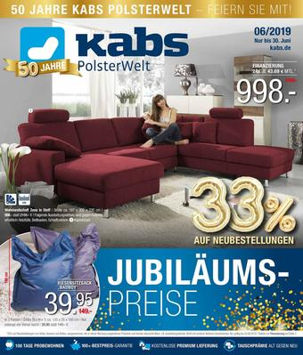 Kabs Polsterwelt Prospekt (bis einschl. 30-06)