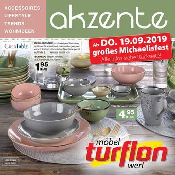 Möbel Turflon Prospekt (bis einschl. 21-09)