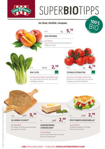 Superbiomarkt Prospekt (bis einschl. 25-06)