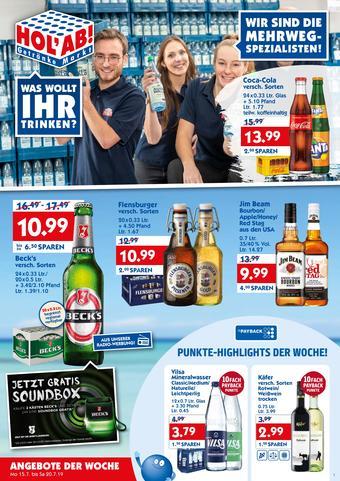 Hol'ab Getränkemarkt Prospekt (bis einschl. 20-07)
