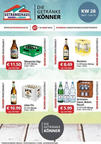 Getränkehaus Prospekt (bis einschl. 20-07)