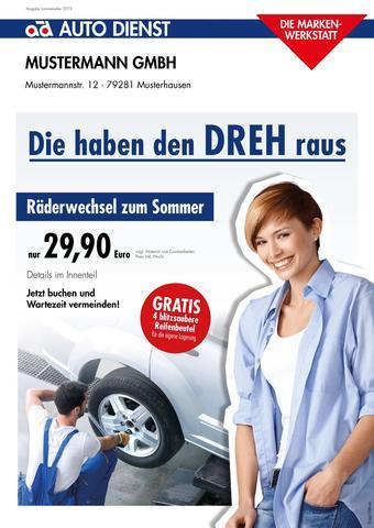 AD Auto Dienst Prospekt (bis einschl. 30-06)