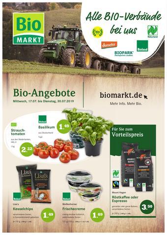 Aleco Biomarkt Prospekt (bis einschl. 30-07)