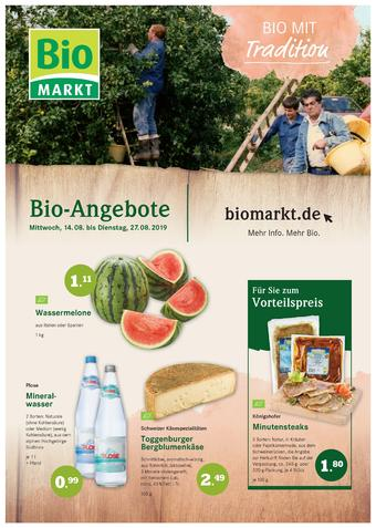 Aleco Biomarkt Prospekt (bis einschl. 27-08)