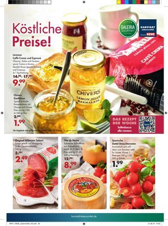 Karstadt Lebensmittel Prospekt (bis einschl. 24-09)