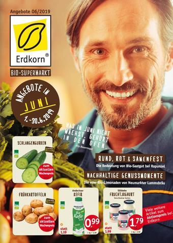 Erdkorn Biomarkt Prospekt (bis einschl. 30-06)