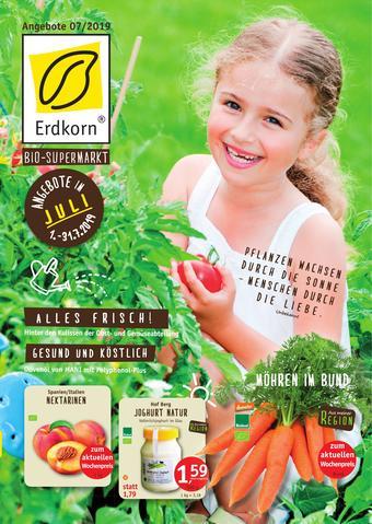 Erdkorn Biomarkt Prospekt (bis einschl. 31-07)