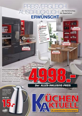 Küchen Aktuell Prospekt (bis einschl. 21-06)