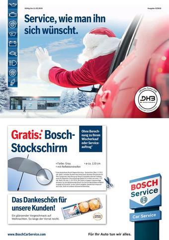 Bosch Car Service Prospekt (bis einschl. 31-12)