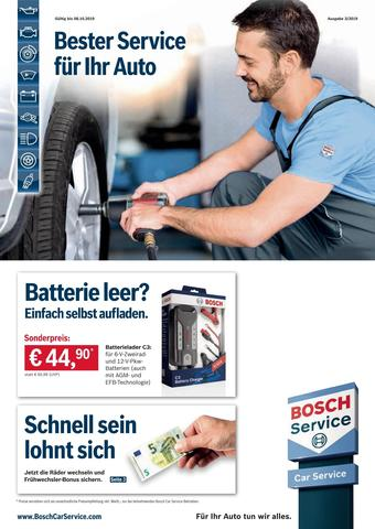 Bosch Car Service Prospekt (bis einschl. 08-10)