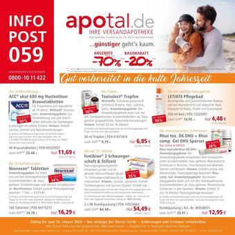 Apotal Prospekt (bis einschl. 10-01)