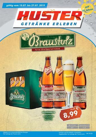 Getränke Huster Prospekt (bis einschl. 27-07)