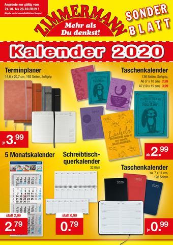 Zimmermann Prospekt (bis einschl. 26-10)