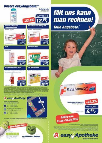 Easy Apotheke Prospekt (bis einschl. 31-08)