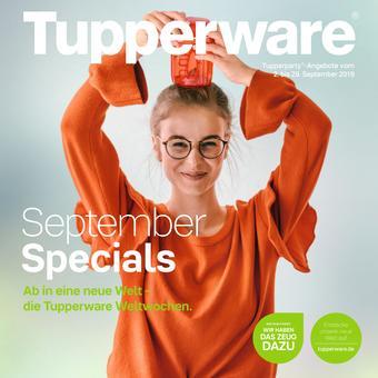 Tupperware Prospekt (bis einschl. 29-09)