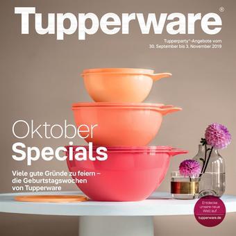 Tupperware Prospekt (bis einschl. 03-11)