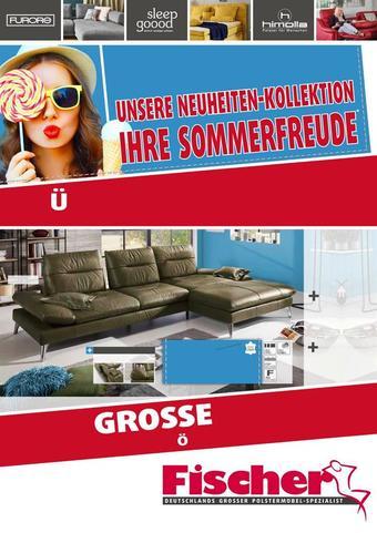 Polstermöbel Fischer Prospekt (bis einschl. 18-08)