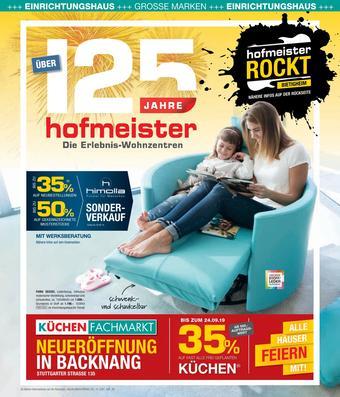 Hofmeister Prospekt (bis einschl. 28-09)