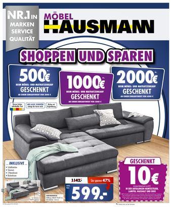 Möbel Hausmann Prospekt (bis einschl. 25-06)