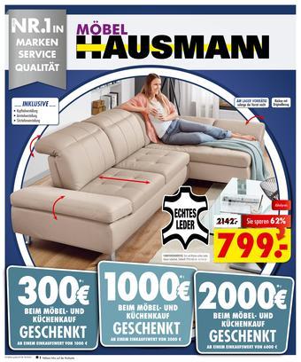 Möbel Hausmann Prospekt (bis einschl. 27-08)