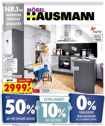 Möbel Hausmann Prospekt (bis einschl. 29-10)