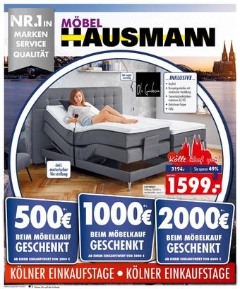 Möbel Hausmann Prospekt (bis einschl. 22-10)