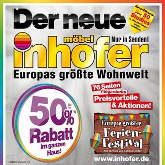 Möbel Inhofer Prospekt (bis einschl. 31-08)