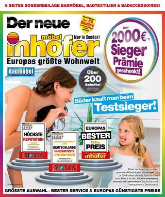 Möbel Inhofer Prospekt (bis einschl. 29-09)