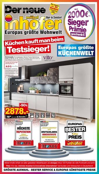 Möbel Inhofer Prospekt (bis einschl. 05-11)