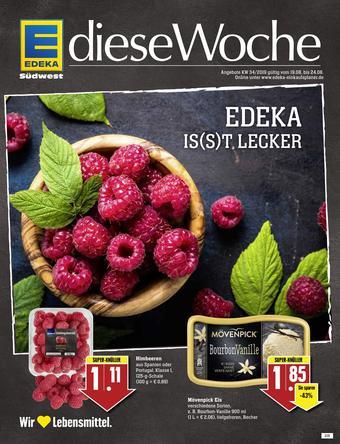 Edeka Aktiv Markt Prospekt (bis einschl. 25-08)