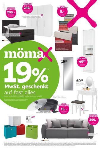 Mömax Prospekt (bis einschl. 30-08)