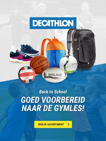 Decathlon reclame folder (geldig t/m 01-09)