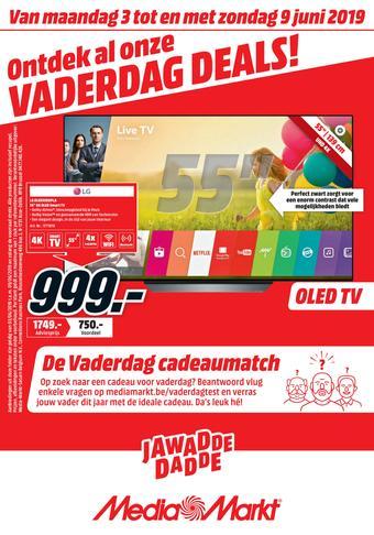 Media Markt reclame folder (geldig t/m 30-06)