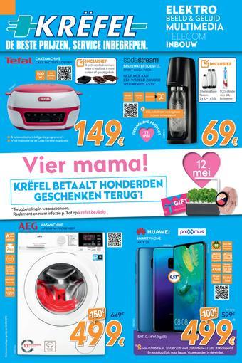 Krëfel reclame folder (geldig t/m 26-05)