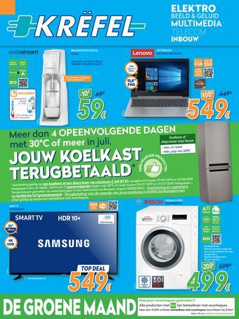 Krëfel reclame folder (geldig t/m 26-06)
