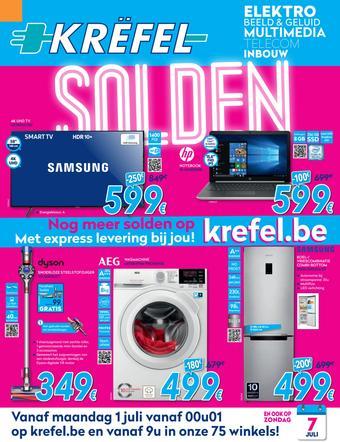 Krëfel reclame folder (geldig t/m 31-07)