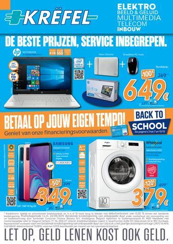 Krëfel reclame folder (geldig t/m 24-09)