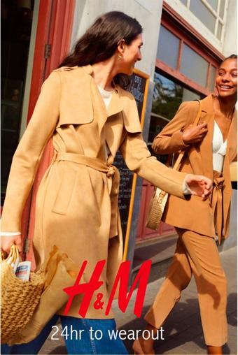 H&M reclame folder (geldig t/m 27-05)