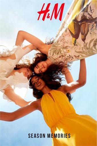 H&M reclame folder (geldig t/m 05-08)