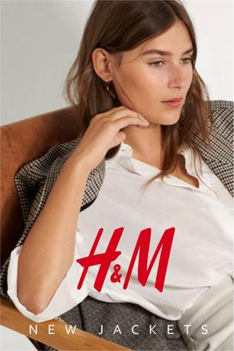 H&M reclame folder (geldig t/m 21-10)