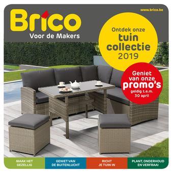 Brico reclame folder (geldig t/m 31-08)