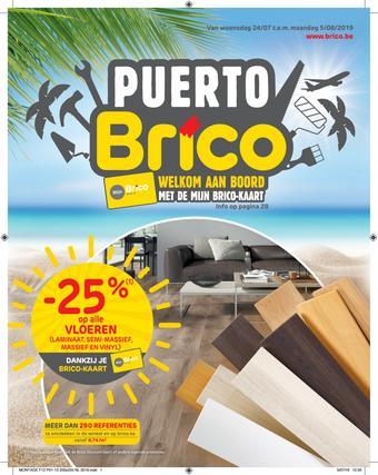 Brico reclame folder (geldig t/m 05-08)