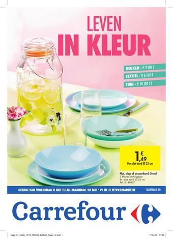 Carrefour reclame folder (geldig t/m 20-05)