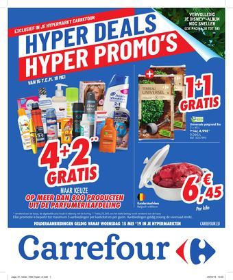 Carrefour reclame folder (geldig t/m 27-05)