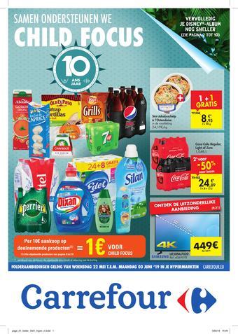 Carrefour reclame folder (geldig t/m 30-06)