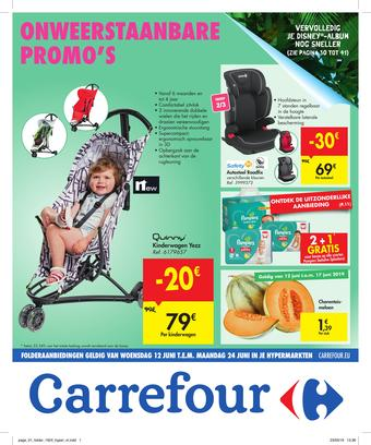Carrefour reclame folder (geldig t/m 24-06)