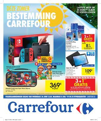 Carrefour reclame folder (geldig t/m 08-07)